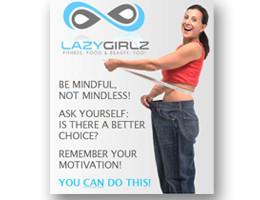 Order Your LAZYGIRLZ Refrigerator Magnet